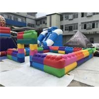 China Funny Giant Human Billiards Table Snooker Football Field Inflatable Footpool Game on sale
