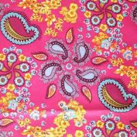 0.5 Check Printed Milky Coating Polyester Fabric for Shower Curtains Manufactures