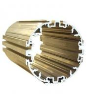 Powder Painted Industrial Extruded Aluminium Profiles , 6063-T5 Electromechanical Shell Manufactures