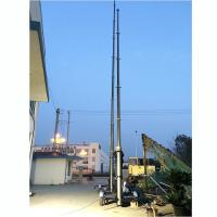 China 15m lockable pneumatic telescopic mast 150kg payloads- mobile antenna telecom pneumatic telescopic mast tower on sale