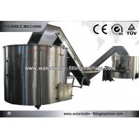 Stainless Steel Auxiliary Equipment Round / Square Bottle Unscrambler Machines Manufactures
