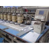 12 Needle Old Embroidery MachineSecond Hand With Narrow Cylinder / USB Connection Manufactures