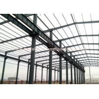 Heavy Duty Cellular Beam Portal Frame Section For Civil Metal Building