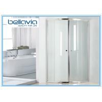 China Bright Handle 900 X 760 Shower Enclosure Quadrant , Bathroom Shower Glass Enclosures on sale