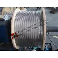 China AISI 304 1x19 8mm Stainless Steel Wire Rope Net Weight 320kg per 1000m on sale