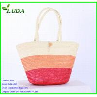 fashionable wheat straw bags for LDWS-69 Manufactures