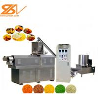 High Efficiency Panko Machine Bread Crumb Production Line No Pollution Manufactures