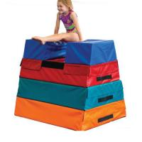 China Non Slip Gym Vault Box 60*60*30*75CM Size With Polystyrene Foam Material on sale