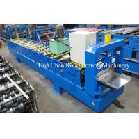 High Grade Single Color Steel Roofing Sheet Making Machine / Roll Forming Equipment Manufactures