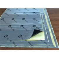 Auto Sound Deadening Sheets , Vibration Isolation Mat / Pads Fireproof Manufactures