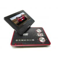 Black, Red, Blue 9inch Portable Car Dvd Player With Tv / Usb / Sd Jack / Evd / Hd / Cd / Fm / Games Manufactures