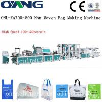 ONL-XA700-800 Popular full automatic non woven rice bag making machine price Manufactures