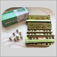 High Durability Screw Hook Hinge  Yellow Zinc Color 480g Corner Brackets 8screws Manufactures
