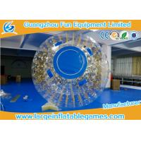 China New Design One Entrance 0.7mm TPU Inflatable Zorb Ball With Zipper on sale