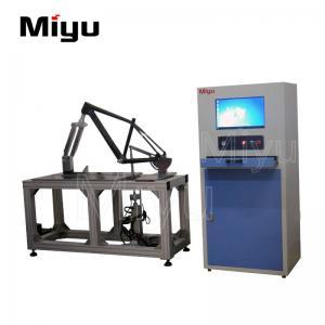 China Frame Brake Bicycle Testing Machine  / Vertical Horizontal Fatigue Lab Testing Machine on sale
