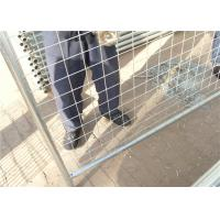 China Outdoor commercial metal galvanized Australia temporary fencing for safety on sale