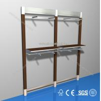 customized freestanding wooden display unit/ shoe shelf/clothes Manufactures