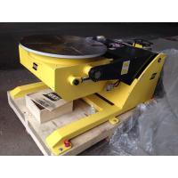 Small Hydraulic Rotary Welding Positioners / Welding Positioning Equipment 380V 50HZ Manufactures