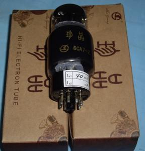 China Shuguang Treasure Series Tubes 6CA7-Z OF Audio Vacuum Tube(EL34B/EL34BW/EL34M) on sale