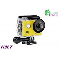 12MP Sports 4k Ultra Hd Wifi Action Camera H9 Waterproof Sport Cam with Remote Control Manufactures