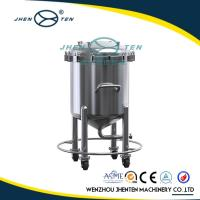 5000 Litre Stainless Steel Water Storage Tank Flexible Mobility With Buffer Storage Manufactures