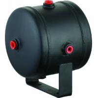 Black Steel Horizontal Air Comressor Tank For Air Horn Tires , 0.5 Gallon air tank Manufactures