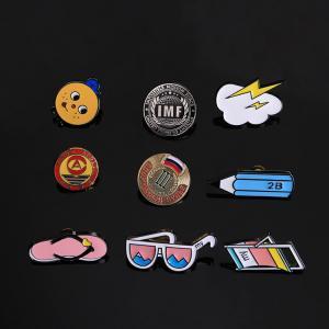 China Wing Lapel Pin metal custom button badge hard enamel pin on sale