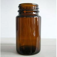 Amber Colored Essential Oil Glass Bottles 100ml 30ml 10ml with plastic cap Manufactures