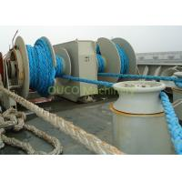 Customized Capacity Marine Deck Winches , Hydraulic Electric Boat Anchor Winch Manufactures