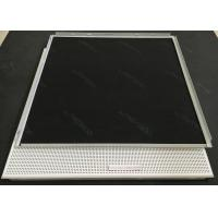 0.6mm Thick Powder Coated Clip In Ceiling Electrostatic Powder Coating Satin Smooth Manufactures