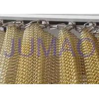 Customized Size Metal Mesh Curtains High Strength Interior Partition Solutions Manufactures