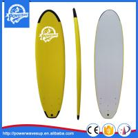 China Yellow 6ft Soft Surfboards Wholesale IXPE Soft Surfboard for Beginner on sale