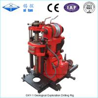 GXY-1 Core drilling rig with stroke 500mm Manufactures