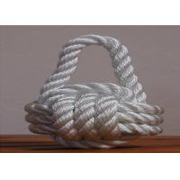 high quality 8mm nylon 3-strand twist code rope for ship Manufactures
