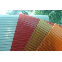 China Greenhouse Materials Polycarbonate Sheet Twin Wall PC Sheet on sale
