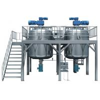 30L Pharmaceutical Ointment Vacuum Emulsifying Machine 1.1 kw 380V 50Hz Manufactures