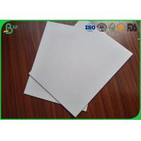 Rigid / Strong  Grey Cardboard Paper , High Stiffness 350Gsm Grey Board Sheets Manufactures