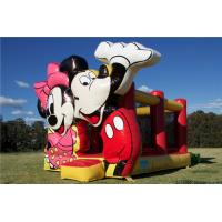 Buy cheap Wonderful Mickey Mouse Jumping Castle Inflatable Bounce House For Commercial from wholesalers
