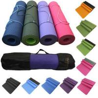 Acupuncture Cushioned PVC Yoga Mat Non Slip , Personalized Healthy Yoga Mats Manufactures