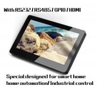 "7"" Indoor Touch Tablet Q896S with Integrated reader for reading 13.56 MHz cards"