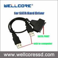 2.5 HDD Laptop Adapter Converter USB 2.0 to SATA Adapter Cable Hard Disk Drive Manufactures