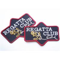 Popular jeans leather patch labels for clothing Custom Embroidery Patches Manufactures