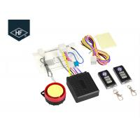 12V Alarm System Motorcycle Parts Anti Theft Automatic Sensor Guarding 125db Double Remote Control Manufactures