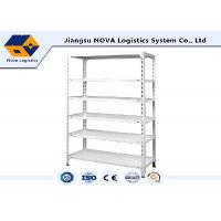 China Cold Rolled Steel Commercial Shelving , Boltless Steel Shelving With High Density Board on sale