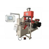 China PLC Control Cantilever Foil Coil Winding Machine With Strip Conductor on sale
