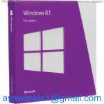 Korea Multi Language Microsoft Windows 8.1 License Key OEM Full Package For Computer Manufactures
