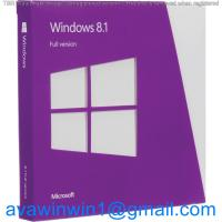 Korea Multi Language Microsoft Windows 8.1 License Key OEM Full Package For Computer Manufactures