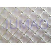 China 1/2 Inch Opening Decorative Wire Screen, Galvanized Steel Cabinet Mesh Grilles for sale