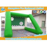 China Outside Inflatable Field Goal Post For Soccer Ball 4 * 4 *3 M Excellent Durability on sale