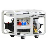 Home Use 2-10KVA Air Cooled Diesel Electric Generator Silent 5KVA AC Single Phase Manufactures